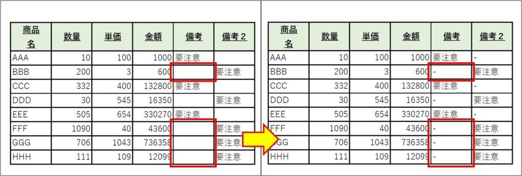 PDFの表_Excel表に転記_空白の区切_3
